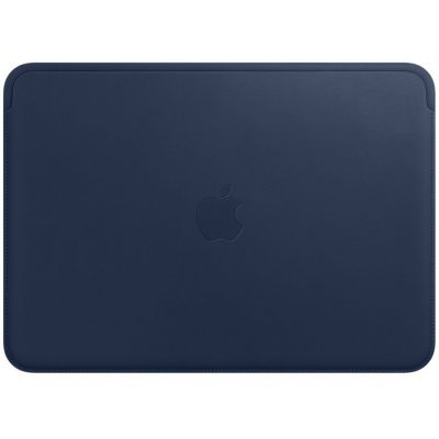 Чехол для ноутбука Apple Leather Sleeve для MacBook 12 Midnight Blue (Темносиний) (MQG02ZM/A) аксессуар чехол apple iphone 7 leather case midnight blue mmy32zm a