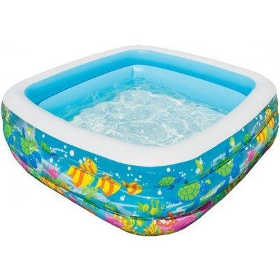 Надувной бассейн Intex Аквариум 57471 159*159*50 см (57471) надувной бассейн intex бассейн аквариум 152 56см