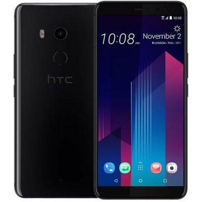 Смартфон HTC U11Plus EEA 64Gb Ceramic Black (Черный) (99HANE054-00) смартфон htc u11 4 64gb brilliant black черный 99hamb075 00