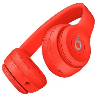 Наушники Beats Solo 3 1.36м MP162ZE/A Красный (MP162ZE/A) гарнитуры beats гарнитура beats solo 2 mh8w2ze a накладные черный проводные
