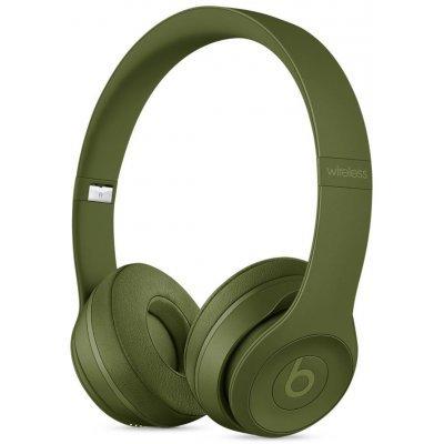 Наушники Beats Solo 3 1.36м MQ3C2ZE/A Зеленый (MQ3C2ZE/A) гарнитуры beats гарнитура beats solo 2 wl se2 active collection mkq12ze a накладные желтый беспроводные bluetoot