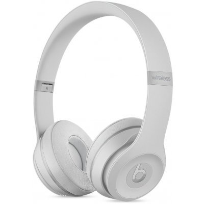 Наушники Beats Solo 3 Wireless On-Ear Headphones MR3T2ZE/A Matte Silver (Серебристый) (MR3T2ZE/A) наушники накладные beats ep on ear headphones red ml9c2ze a