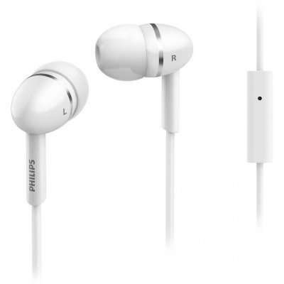 Наушники Philips SHE1455 Белый (SHE1455WT/10) наушники philips she1455 black