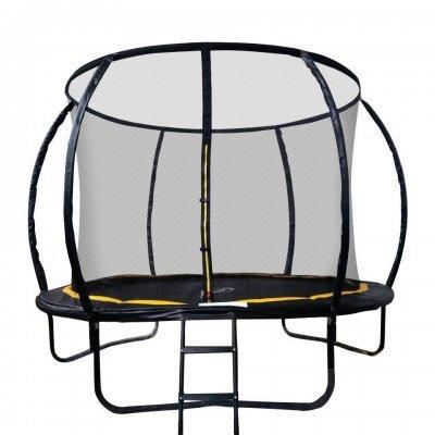 Батут Sport Elite 10FT 3,05м с защитной сеткой (внутрь) с лестницей CFR-10FT-3 (CFR-10FT-3) батут sport elite r 1266 диаметр 112 см