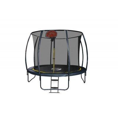 Батут Sport Elite 12FT 3,66м с защитной сеткой (внутрь) с лестницей CFR-12FT-4 (CFR-12FT-4) батут sport elite r 1266 диаметр 112 см