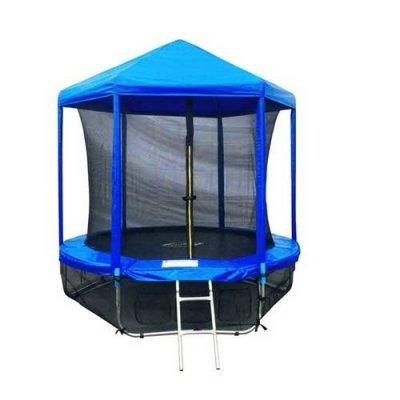 Батут Sport Elite 6FT 1,83м с защитной сеткой (внутрь) и крышей GB20202-6FT (GB20202-6FT) батут sport elite r 1266 диаметр 112 см