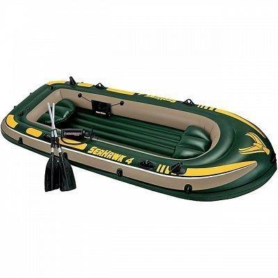 Надувная лодка Intex Сихок (68351) (Intex 68351) надувная лодка с алюминиевыми веслами и насосом jilong cheyenne iii 400 set 284х132х38см jl007108n