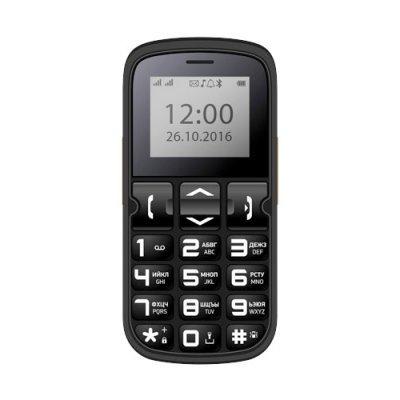 Мобильный телефон VERTEX C306 BLACK (Черный) (C306BL) мобильный телефон vertex к202