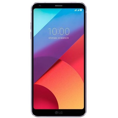 Смартфон LG G6 H870DS 4G 64Gb Фиолетовый (LGH870DS.ACISVI) мобильный телефон philips xenium e116 черный моноблок 2sim 2 4 240x320 0 3mpix bt gsm900 1800 gsm1900 mp3 fm microsd max32gb