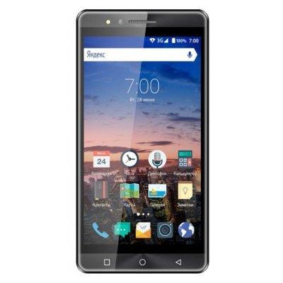 Смартфон Vertex Impress Open 3G 8Gb Graphite (Серый) (VOPNGRP) смартфон vertex impress eagle graphite