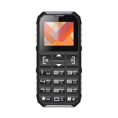 Мобильный телефон Vertex C307 Черный/Серебристый (C307BLSIL) мобильный телефон vertex к202