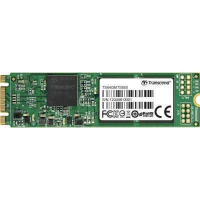 Накопитель SSD Transcend TS64GMTS800S 64GB (TS64GMTS800S) ssd винчестер для ноутбука