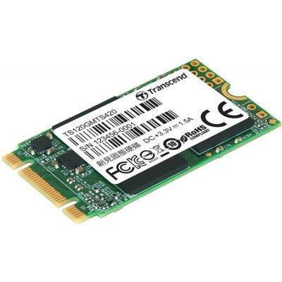 Накопитель SSD Transcend TS120GMTS420S 120GB (TS120GMTS420S) внутренний ssd накопитель 120gb intel ssdsc2kw120h6x1 sata3 2 5 540 series