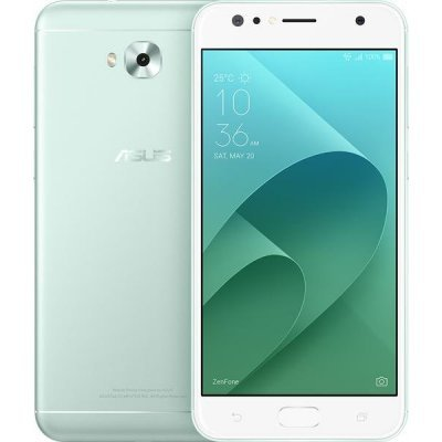 Смартфон ASUS ZenFone 4 Selfie ZD553KL-5N105RU LTE 4/64Gb Green (Зеленый) (90AX00L4-M01520) [official global rom]xiaomi redmi note 4 3gb 32gb smartphone silver