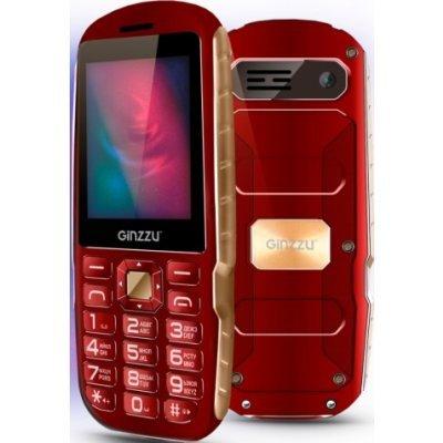 Мобильный телефон Ginzzu R1D Красный (GNZ-R1D-RED) мобильный телефон ginzzu mb501 красный