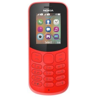 Мобильный телефон Nokia 130 Dual Sim (2017) TA-1017 Красный (Nokia 130 DS TA-1017 Red Мобильный телефон) nokia 6700 classic illuvial
