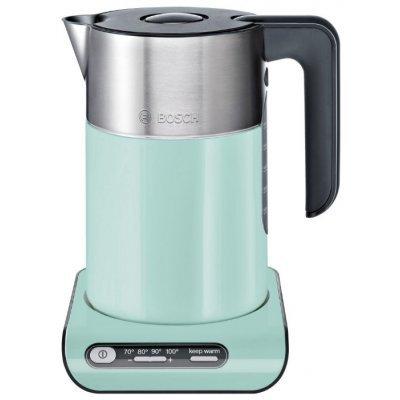 Электрический чайник Bosch TWK8612P Черный (TWK8612P) электрический чайник bosch twk7901 silver