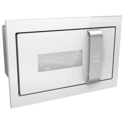 Микроволновая печь Gorenje BM235ORAW Белый/Серебристый (BM235ORAW) встраиваемая микроволновая печь gorenje bm6250oraw 900 вт белый