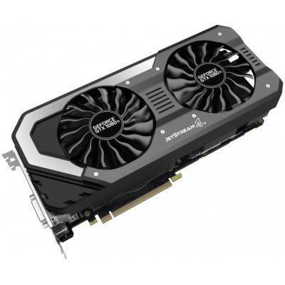 Видеокарта ПК Palit PA-GTX1080TI Super Jetstream 11G nVidia GeForce GTX 1080Ti 11264Mb 352bit GDDR5X 1531/11000 (NEB108TS15LC-1020J)