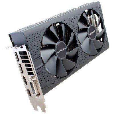 Видеокарта ПК Sapphire PULSE RX 570 8G OC AMD Radeon RX 570 8192Mb 256bit GDDR5 1284/7000 DVIx1/HDMIx2/DPx2/HDCP Ret (11266-36-20G) видеокарта sapphire amd radeon rx 570 11266 36 20g pulse rx 570 8g oc 8гб gddr5 ret