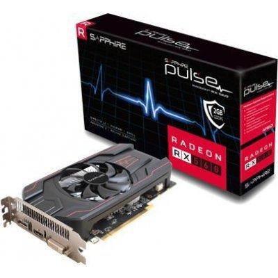 Видеокарта ПК Sapphire PULSE RX 560 OC (UEFI) AMD Radeon RX 560 2048Mb 128bit GDDR5 1216/6000 DVIx1/HDMIx1/DPx1/HDCP Ret (11267-22-20G) видеокарта sapphire amd radeon rx 570 11266 36 20g pulse rx 570 8g oc 8гб gddr5 ret