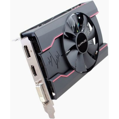 Видеокарта ПК Sapphire RX 550 4G OC AMD Radeon RX 550 4096Mb 128bit GDDR5 1206/7000 DVIx1/HDMIx1/DPx1/HDCP Ret (11268-01-20G) видеокарта sapphire 21275 02 20g