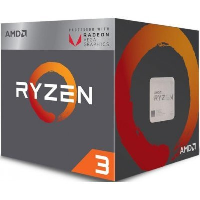 Процессор AMD Ryzen 3 2200G Raven Ridge (AM4, L3 4096Kb) AM4 Box (YD2200C5FBBOX)
