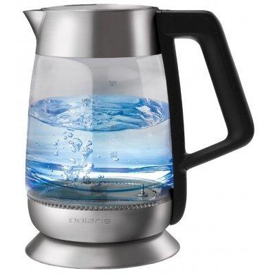 Электрический чайник Polaris PWK 1838CGLD Черный (PWK 1838CGLD) чайник электрический polaris pwk 1729cgl черный