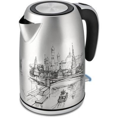 Электрический чайник Polaris PWK 1856CA Рисунок (PWK 1856CA) чайник электрический polaris pwk 1729cgl черный