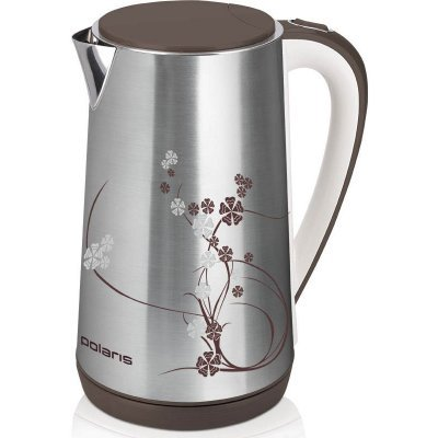 Электрический чайник Polaris PWK 1726CA Серебристый/Рисунок (PWK 1726CA) чайники электрические polaris чайник polaris pwk 1843ca серебристый 1 8л 2100вт металл