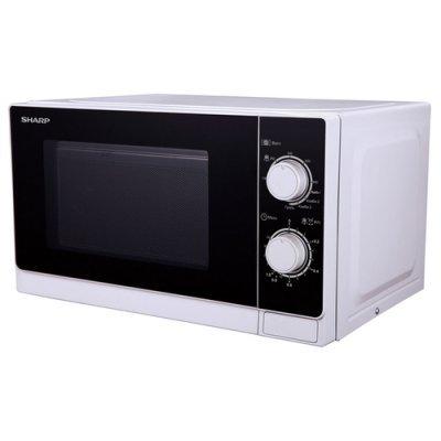 Микроволновая печь Sharp R-6000RW Белый/Черный (R-6000RW) микроволновая печь rolsen mg2590sa mg2590sa
