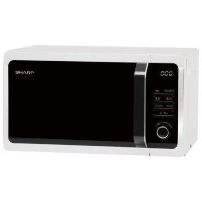 Микроволновая печь Sharp R-7852RW Белый/Черный (R-7852RW) микроволновая печь rolsen mg2590sa mg2590sa