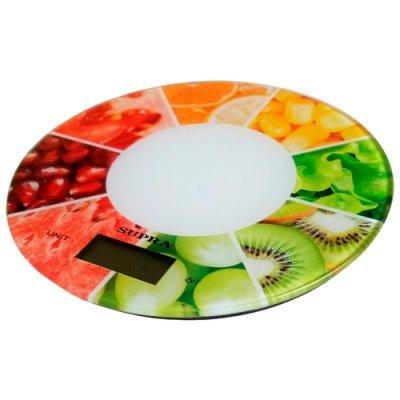 Весы кухонные Supra BSS-4603 Белый (11635) кухонные весы redmond rs 736 полоски