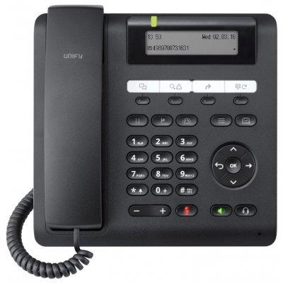 VoIP-телефон Siemens OpenScape CP200 черный (L30250-F600-C426) (L30250-F600-C426) купить через интернет телефон siemens a40