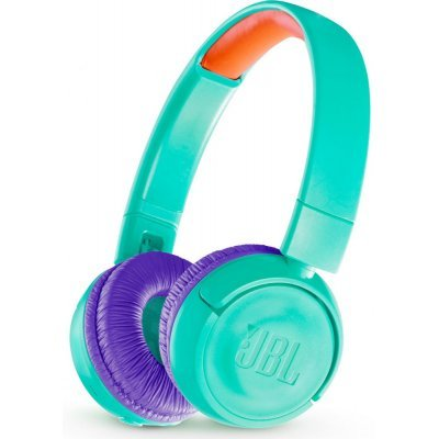 Наушники JBL JR300BT Teal (Бирюзовый) (JBLJR300BTTEL) наушники bluetooth jbl e55bt teal jble55bttel