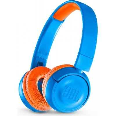 Наушники JBL JR300BT Uno (Синий/Оранжевый) (JBLJR300BTUNO) гарнитура jbl e55bt белый jble55btwht