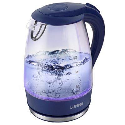 Электрический чайник Lumme LU-216 Синий сапфир (LU-216 синий сапфир) мультиварка lumme lu 1446 туманный нефрит 860 вт 5 л