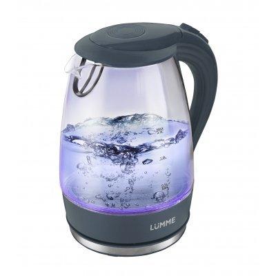 Электрический чайник Lumme LU-216 Серый жемчуг (LUMME LU-216 Чайник серый жемчуг) мультиварка lumme lu 1446 туманный нефрит 860 вт 5 л
