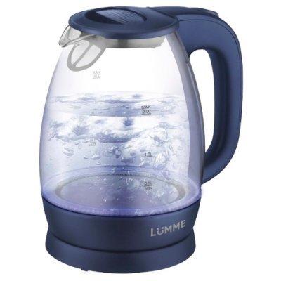 Электрический чайник Lumme LU-136 Синий сапфир (LU-136 синий сапфир) мультиварка lumme lu 1446 туманный нефрит 860 вт 5 л