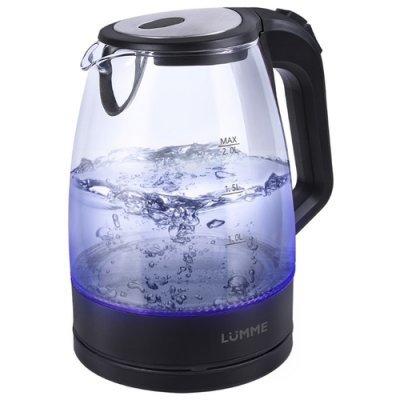 Электрический чайник Lumme LU-138 Черный жемчуг (LU-138 черный жемчуг) мультиварка lumme lu 1446 туманный нефрит 860 вт 5 л
