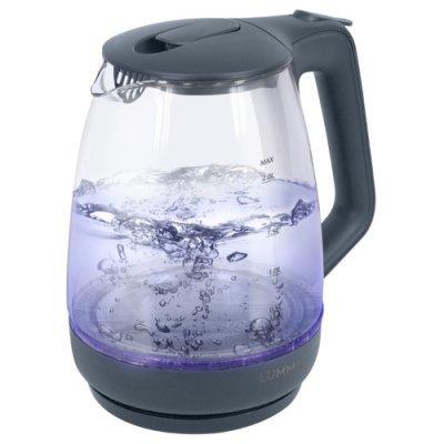 Электрический чайник Lumme LU-140 Серый жемчуг (LUMME LU-140 Чайник серый жемчуг) мультиварка lumme lu 1446 туманный нефрит 860 вт 5 л