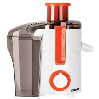 Соковыжималка BBK JC060-H11 Белый/Оранжевый (JC060-H11 белый/оранжевый) bbk jc060 h01 black red