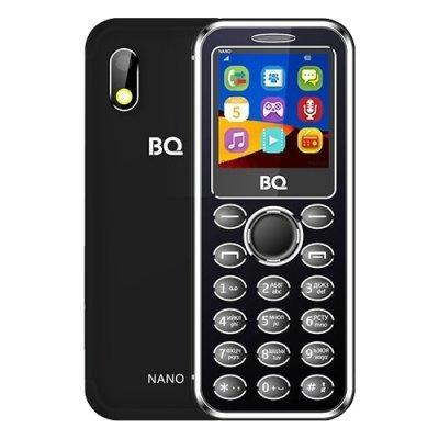 Мобильный телефон BQ-1411 Nano Black (Черный) (1411 Nano Black) мастурбатор nano toys nano