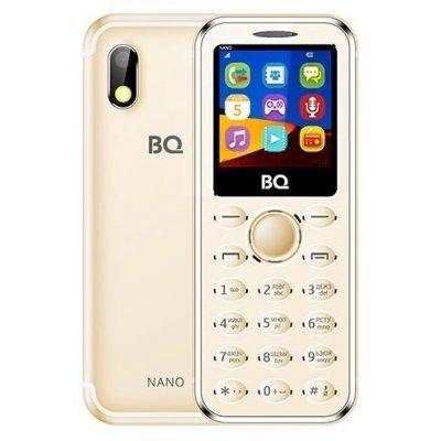 Мобильный телефон BQ-1411 Nano Gold (Золотой) (1411 Nano Gold) мастурбатор nano toys nano