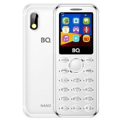 Мобильный телефон BQ-1411 Nano Silver (Серебристый) (BQ 1411 Nano Silver Мобильный телефон) мобильный телефон bq киото