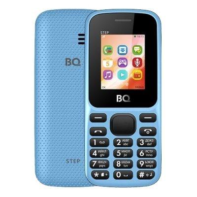 Мобильный телефон BQ-1805 Step Blue (Голубой) (BQ 1805 Step Blue) мобильный телефон bq mobile bq 1805 step blue