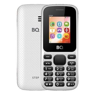 Мобильный телефон BQ-1805 Step White (Белый) (1805 Step White) мобильный телефон bq mobile bqm 1831 step white