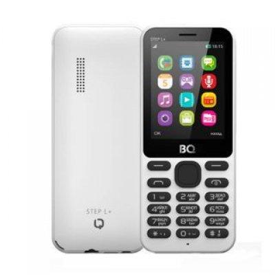 Мобильный телефон BQ 2431 Step L+ White (Белый) (2431 Step L+ White) мобильный телефон bq mobile bqm 1831 step white