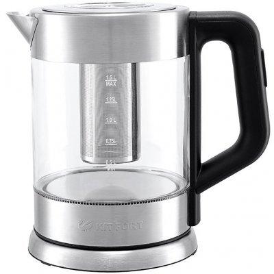 Электрический чайник Kitfort КТ-623 Серебристый (КТ-623) чайник электрический kitfort кт 615 2