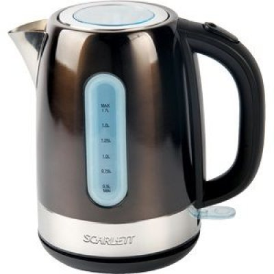 Электрический чайник Scarlett SC-EK21S39 Коричневый (SC - EK21S39) электрический чайник scarlett sc ek14e04